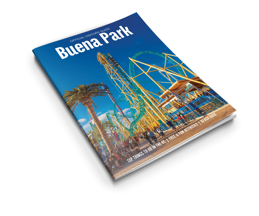 Visit Buena Park Visitors Guide front cover