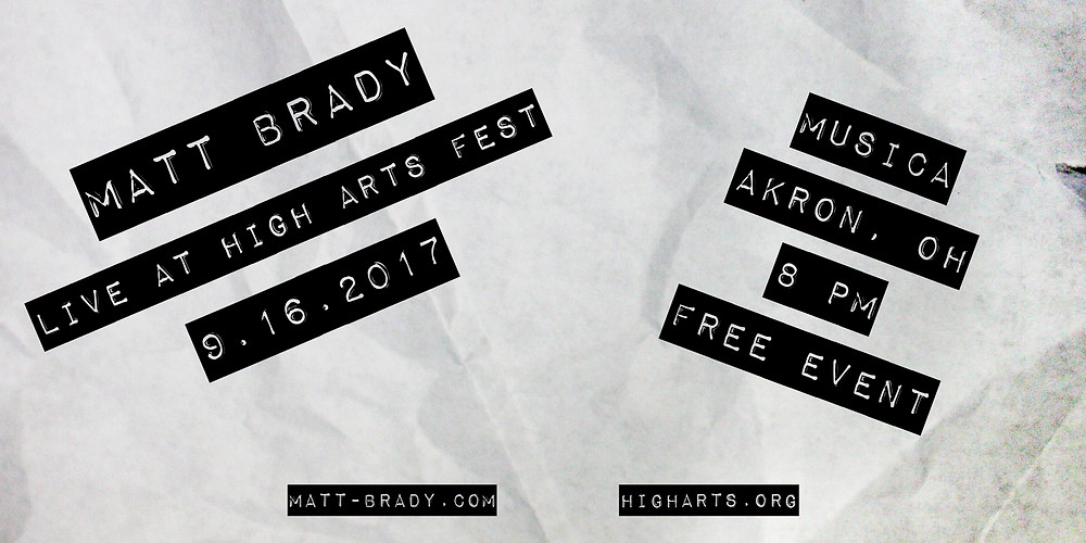 High Arts Festival Promo