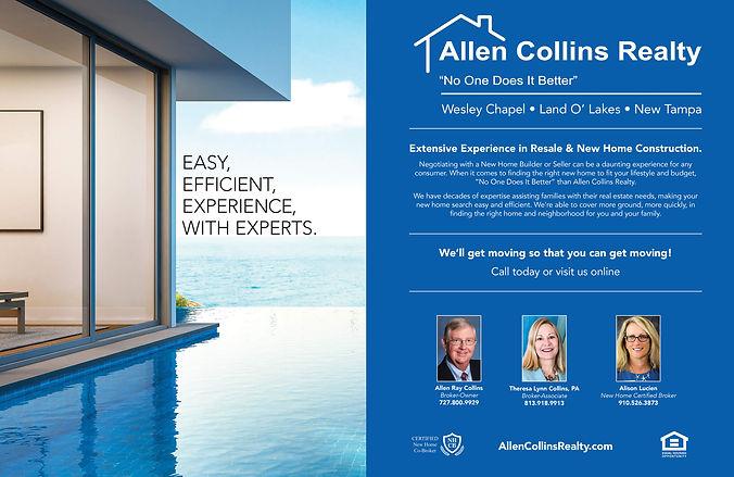 Allen Collins Realty 2019 advertisement