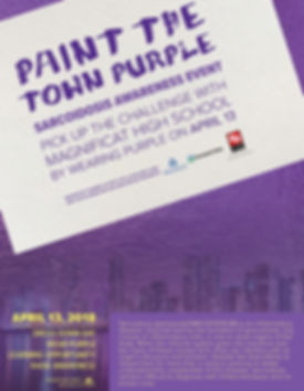 sarcoidosis paint the town purple flyer