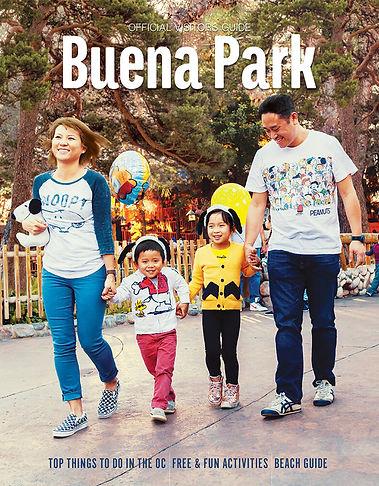 buena park 2018 visitors guide cover
