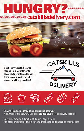 Catskills Delivery 2019 advertisement