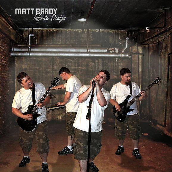 Matt Brady Infinite Design album cover
