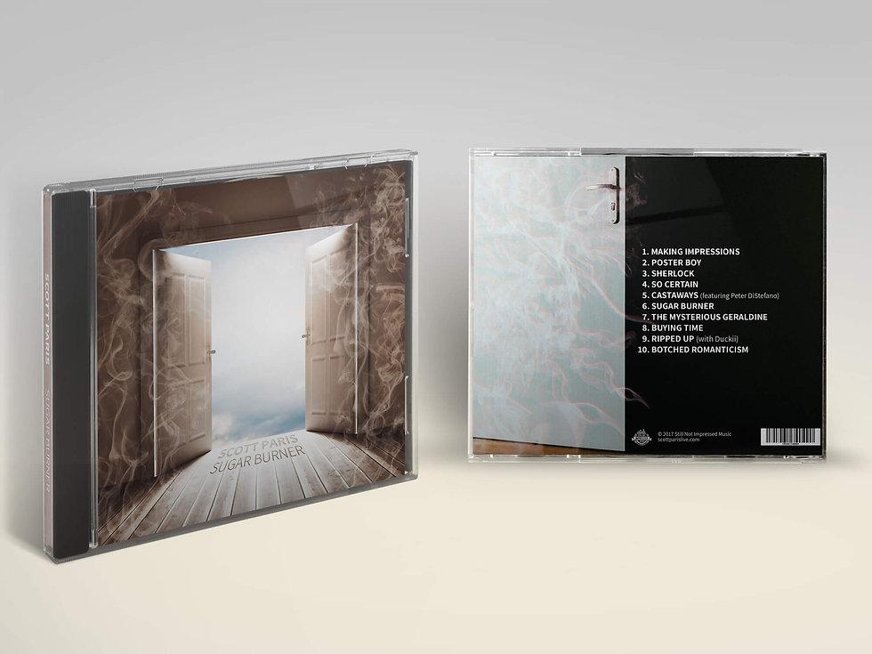 scott paris sugar burner album art