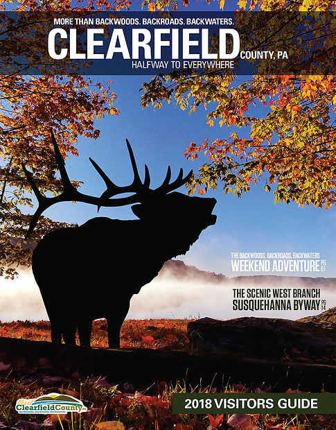 visit clearfield 2018 visitors guide cover