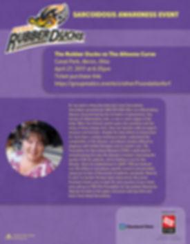 sarcoidosis awareness event flyer