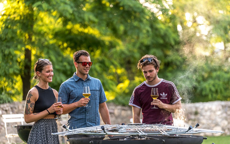 GiraBrace. Barbecue con gli amici