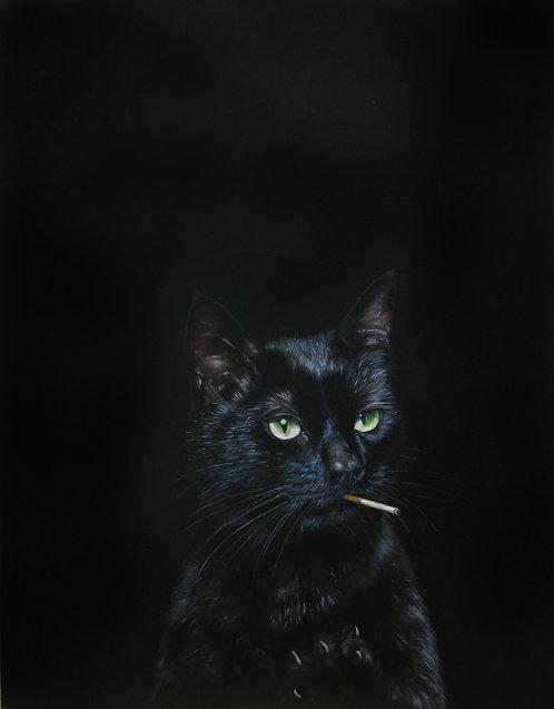 Smoking Cat