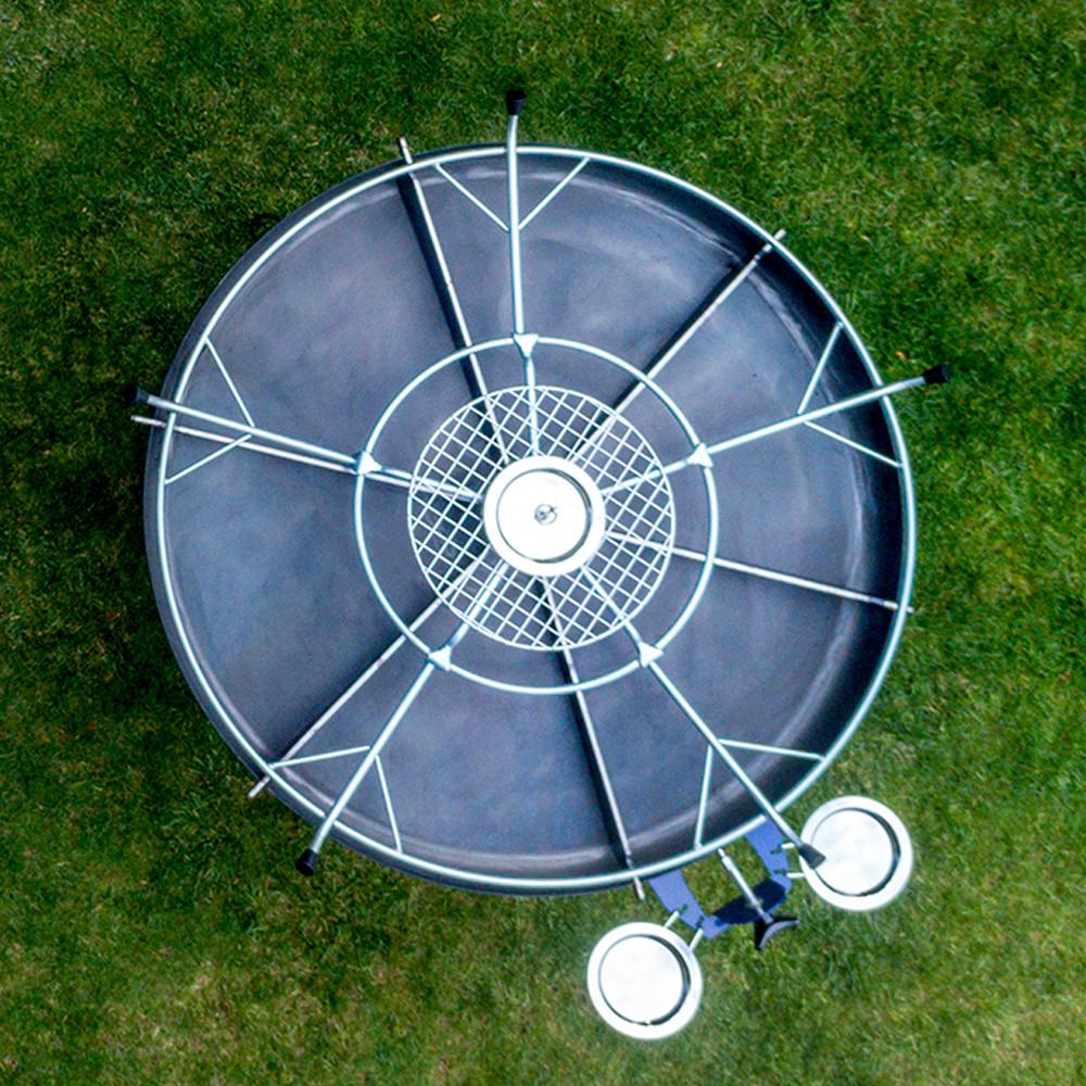 GiraBrace. BBQ rotating burner