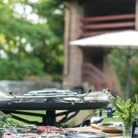 GiraBrace. Barbecue all'aperto