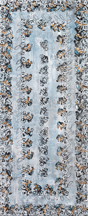 #219_Sideview Cyclists Menagerie