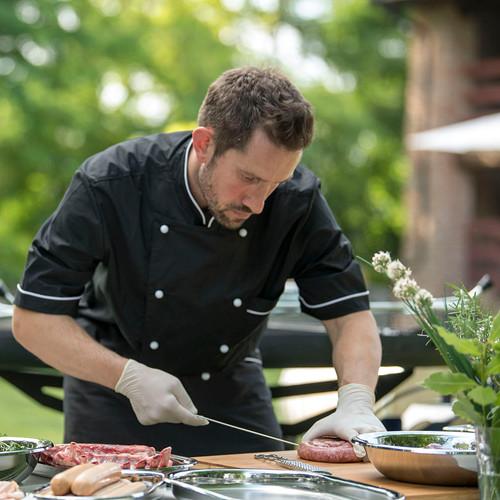 GiraBrace. Barbecue con Chef per cottura professionale