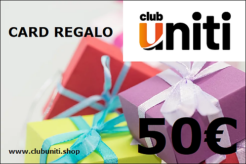 Card Regalo Club Uniti