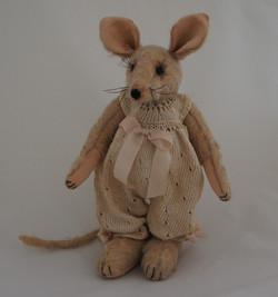 Nostalgische handgemaakte muis