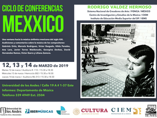CYCLE OF CONFERENCES / UNIANDES / COLOMBIA
