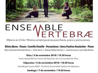 México en Chile / Ensemble Vertebræ