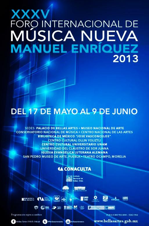 """XXXV FINM """"MANUEL ENRÍQUEZ"""" 2013"""