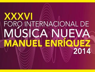 """XXXVI FIMN """"MANUEL ENRÍQUEZ"""" 2014"""