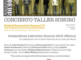 FESTIVAL ENCUENTROS SONOROS'17