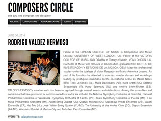 COMPOSERS CIRCLE