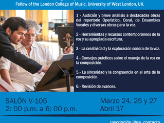 WORKSHOP FOR COMPOSERS / UNIANDES / COLOMBIA