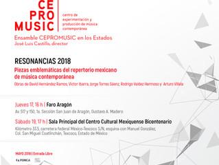 CEPROMUSIC - RESONANCIAS 2018