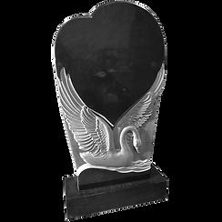 памятник лебедь из камня
