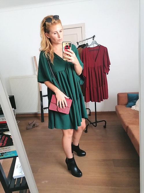 A line-dress green
