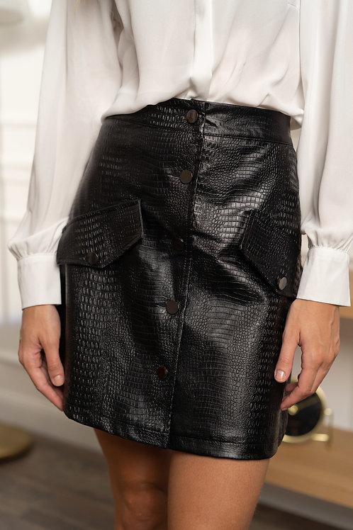 Croco-skirt