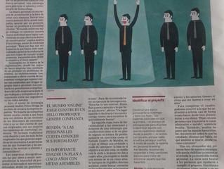 HOY, HABLAMOS EN EL PAÍS-ECONOMÍA SOBRE LAS VENTAJAS DE LA MARCA PERSONAL