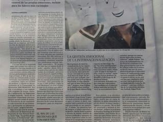 """HABLAMOS EN """"EL PAIS"""" SOBRE LOS NUEVOS LIDERES EMOCIONALES"""