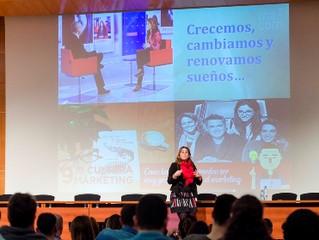 """AMI BONDÍA PONENTE EN LAS """"JORNADAS CULTURA MARKETING"""" Y PRESENTADORA DEL EVENTO """"GOO"""
