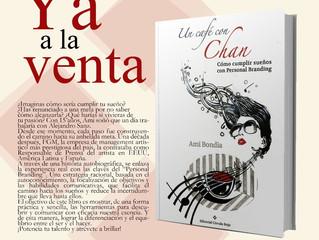"""""""Un Café Con Chan"""", éxito de ventas en la 1ªsemana en Amazon"""