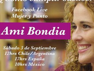 """CHAT EN VIVO CON """"MUJER Y PUNTO"""" (Chile)"""