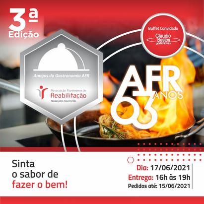 Amigos da Gastronomia AFR: 3° Edição