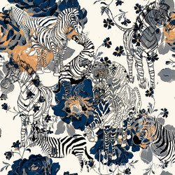 How Many Zebras can you see