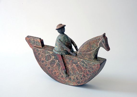 Large Rocking Horse and Rider