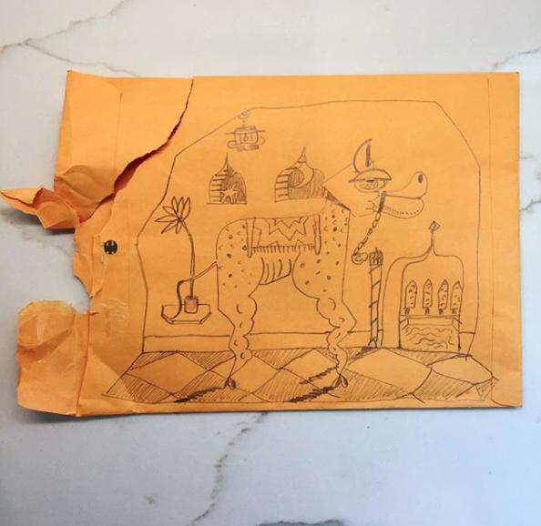 Camel envelope