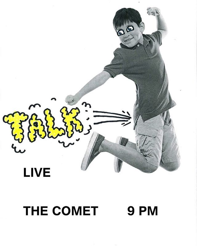 First show at Comet
