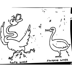 Loose Goose and Standard Goose