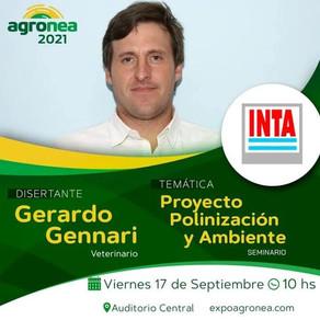 Seminarios de INTA Las Breñas en Agronea 2021