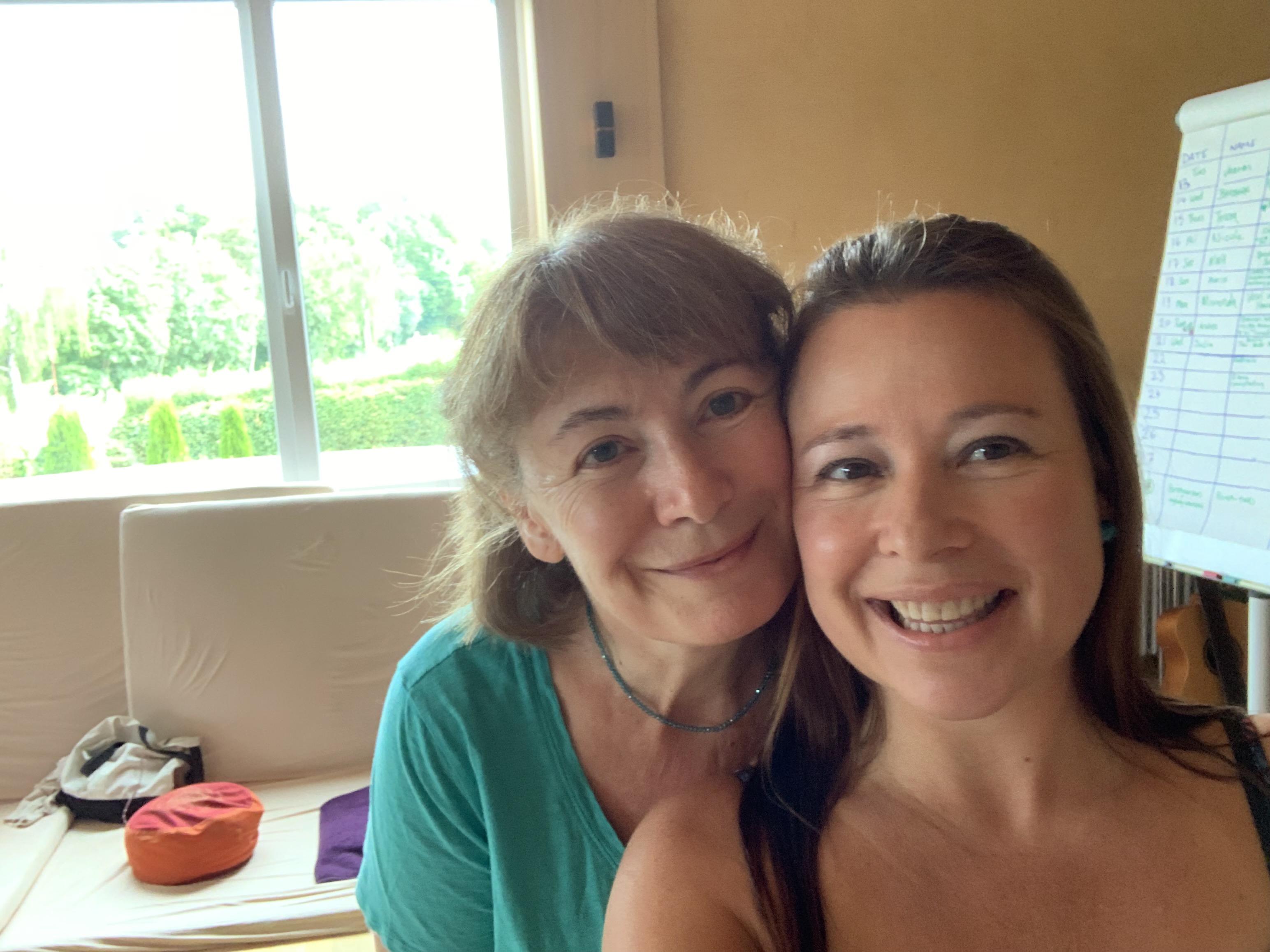 Me and Elena...