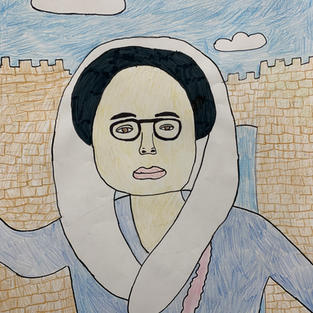 Cartoon Benazir Bhutto