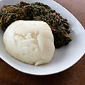 Fufu & Eru (Spinach & Okazi)