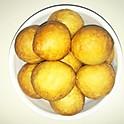 Achombo (Puff-puff & beans)