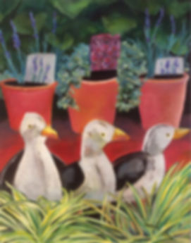 three tin gulls at Kew gardens.jpg