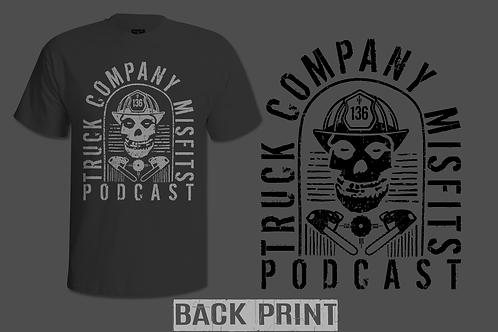 Truck Company Misfits Podcast T-shirt