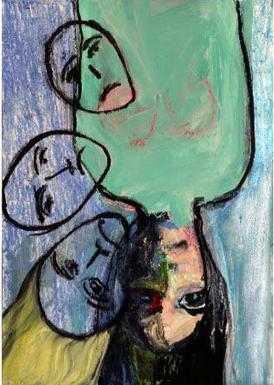 Jennifer Smith June, 2020 Gienssenberg, Netherlands Oil, ink, crayon on canvas