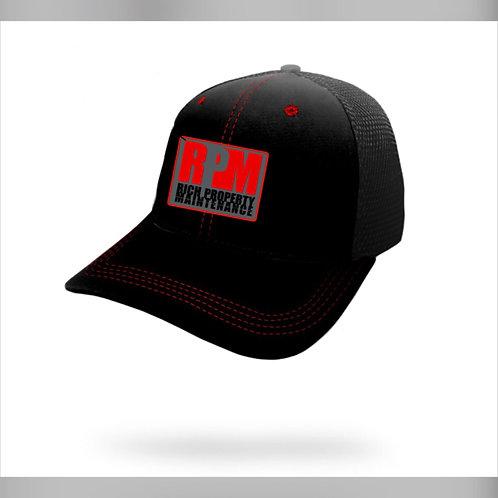 RPM Hat Black