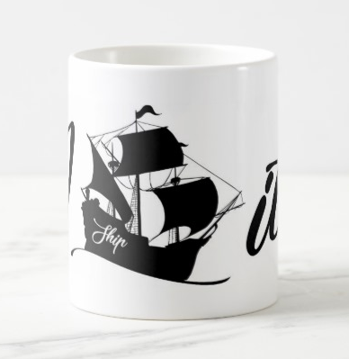 "Caneca ""I ship it"""
